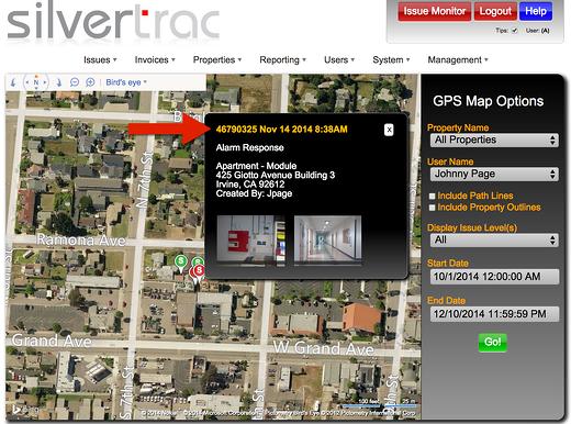 Silvertrac GPS Guard Tour Software