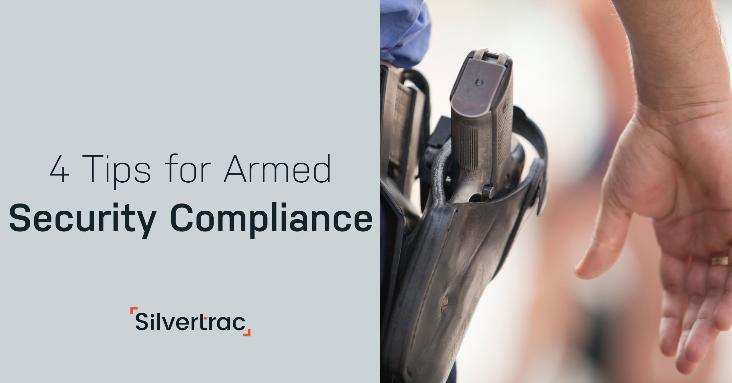4 Tips for Armed Security Compliance