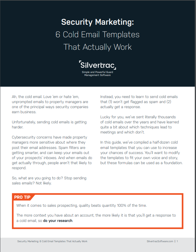 Silvertrac Email Templates Ebook Page 1