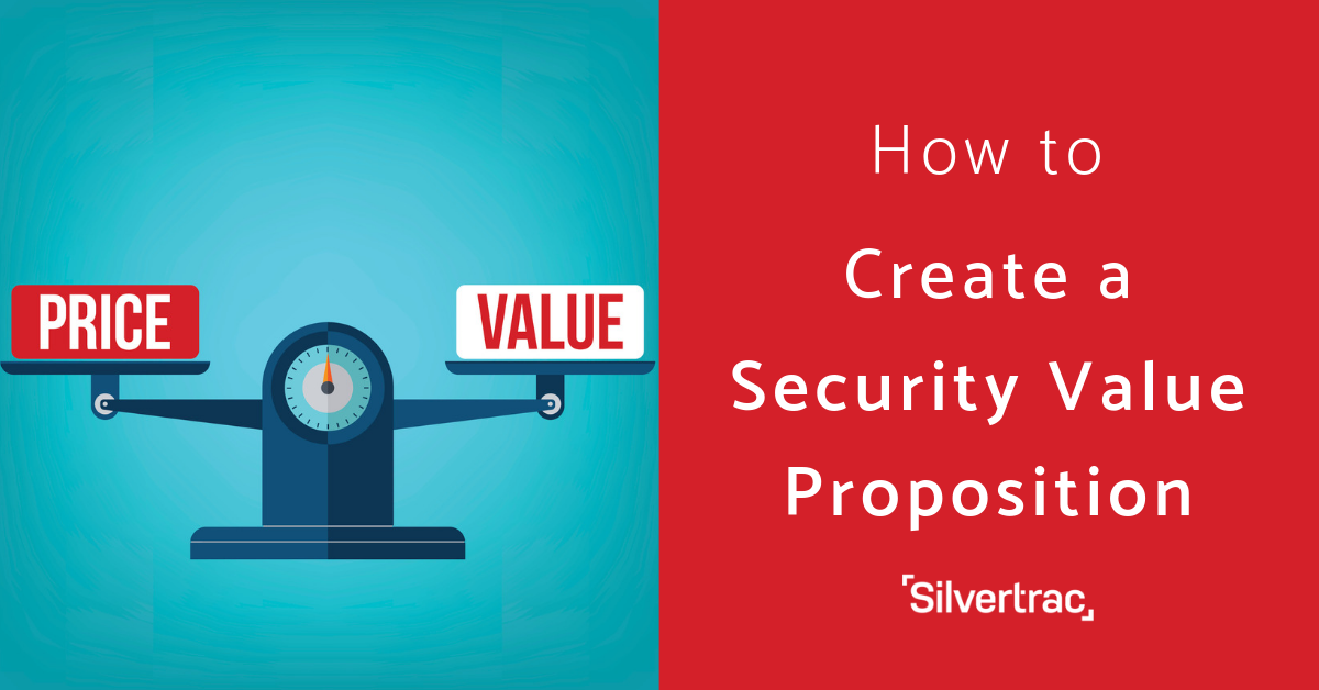 How to Create a Security Value Proposition