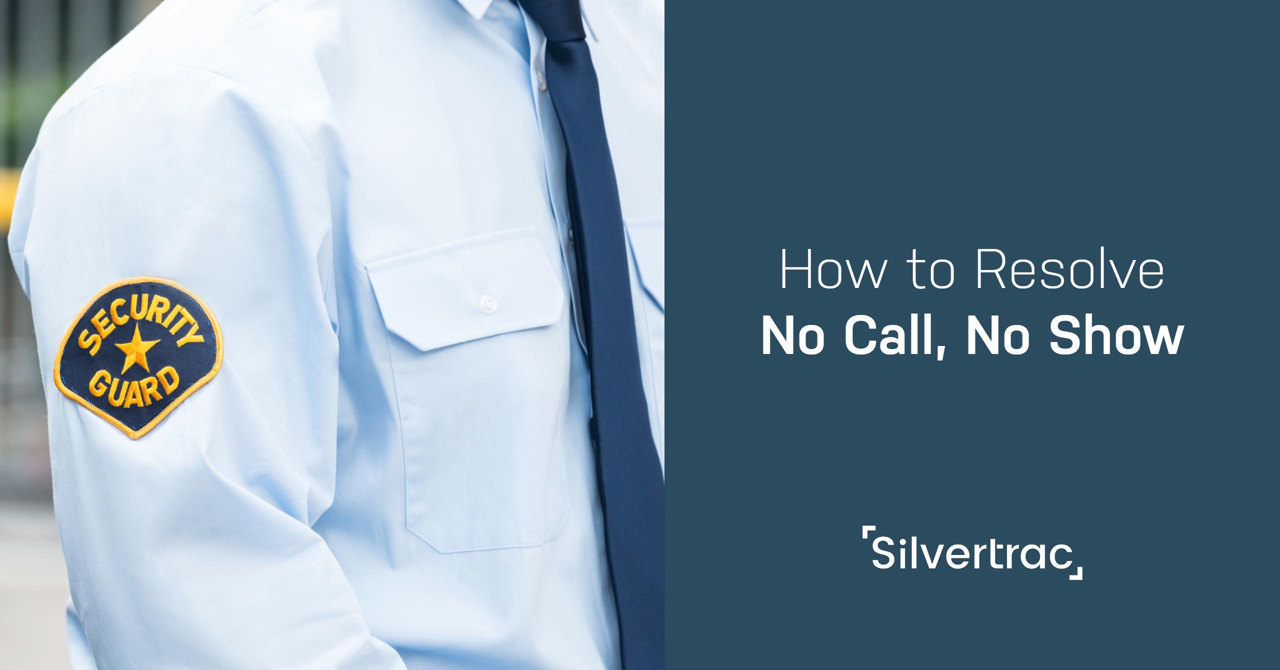 How to Resolve No-Call No Show