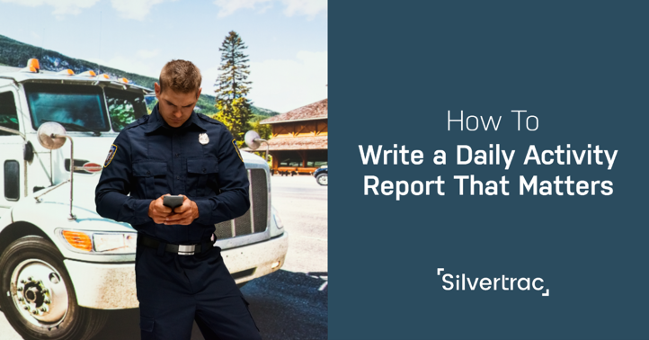 How to Write a Daily Activity Report that Matters