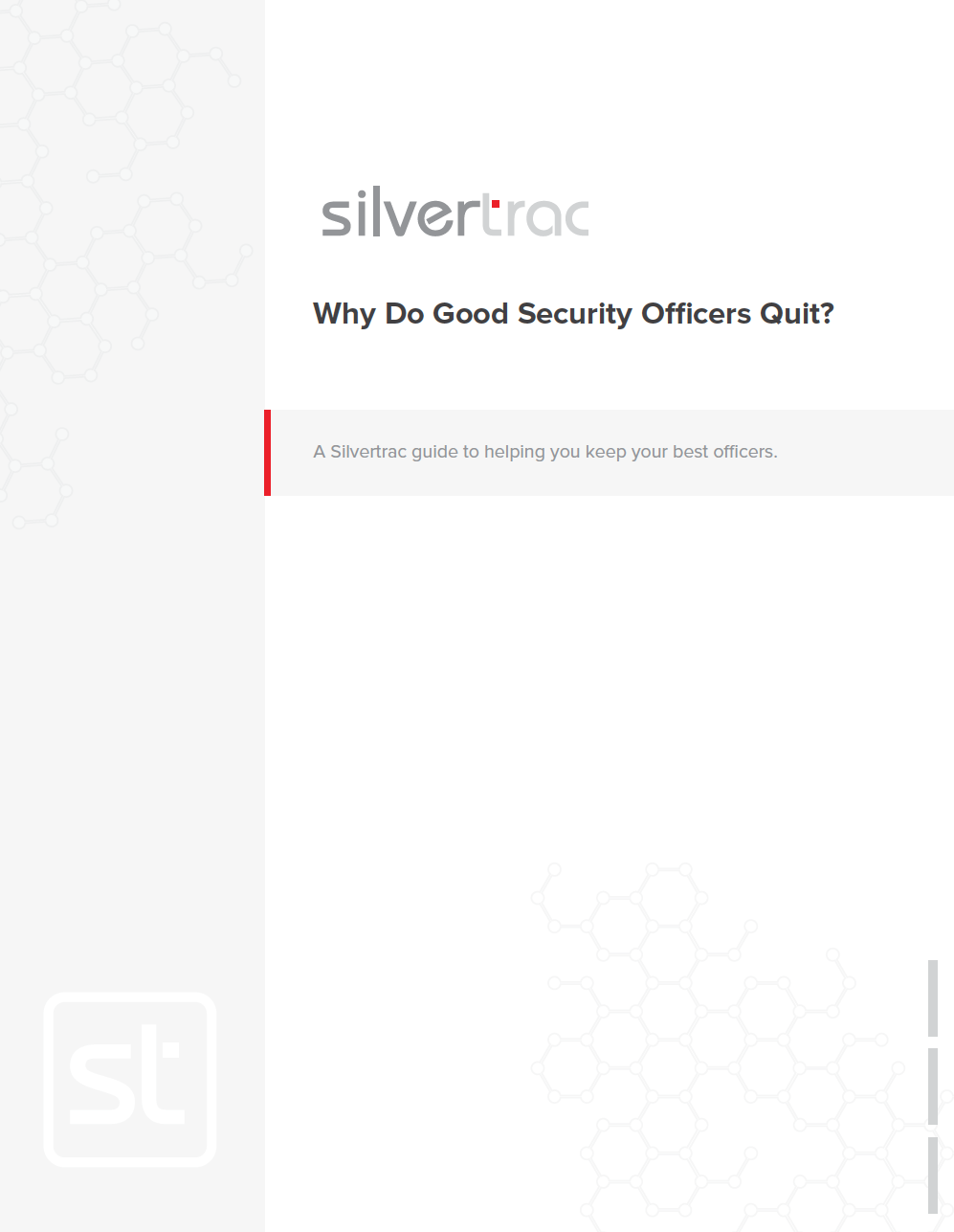 A Silvertrac Guide to Helping You Keep Your Best Officers