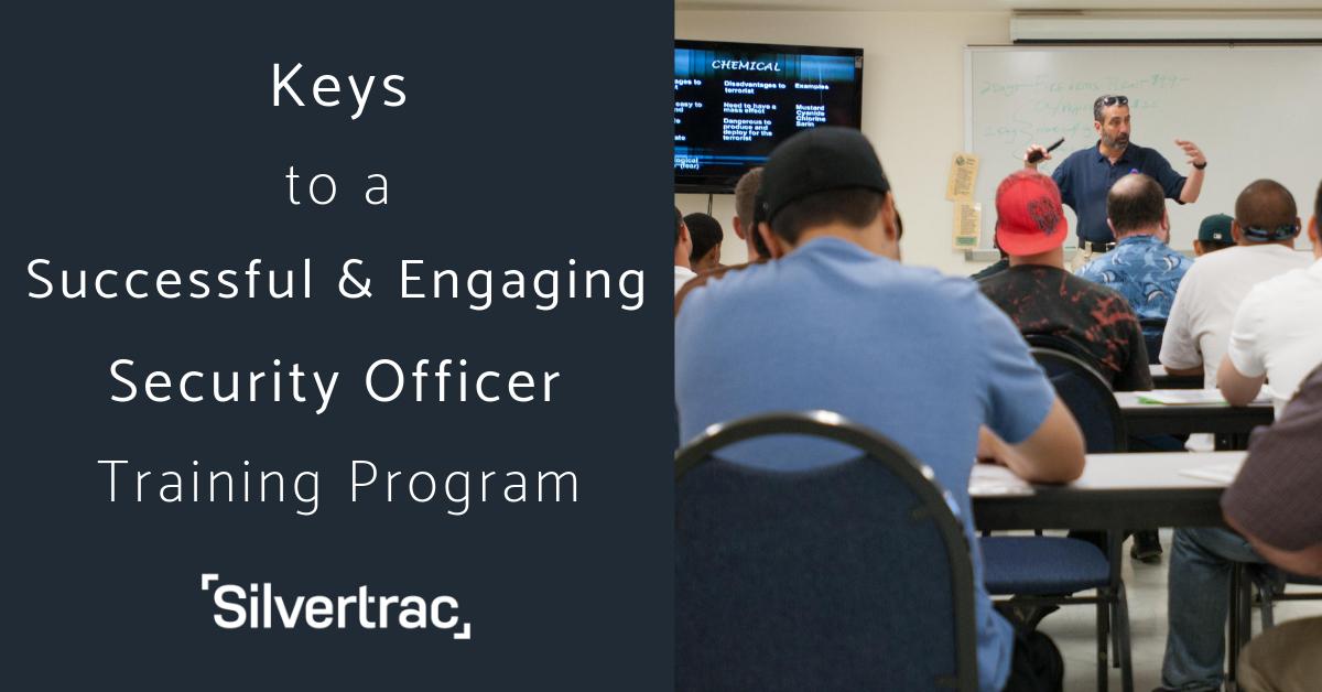 Keys to Successful Security Guard Training Program