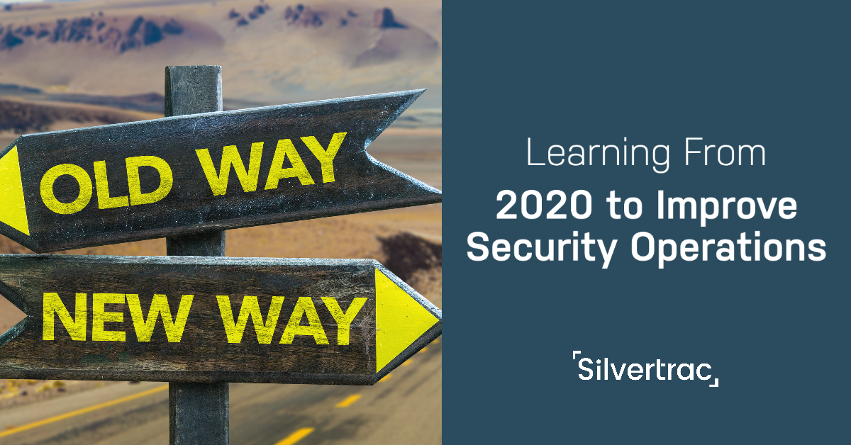 Learning from 2020 in Security