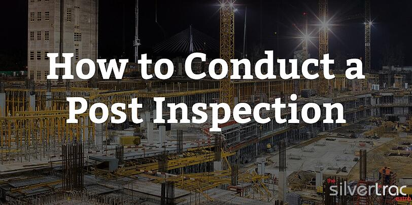 How to Conduct a Security Post Inspection