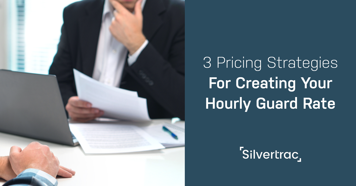 3 Pricing Strategies Security Guard Companies