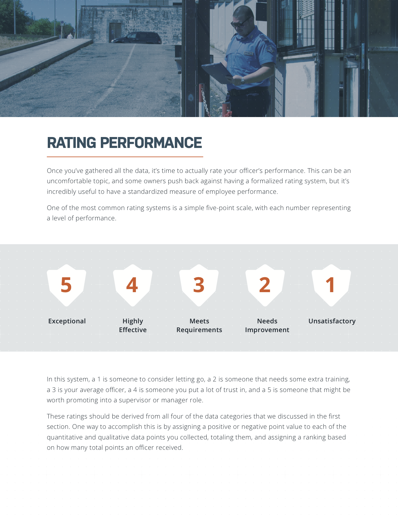 Evaluating Officer Performance eBook Page 2