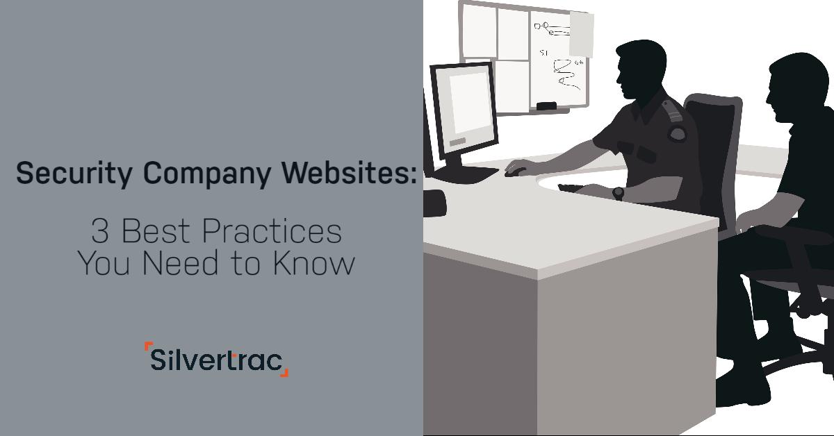 Security Company Website Best Pracitces
