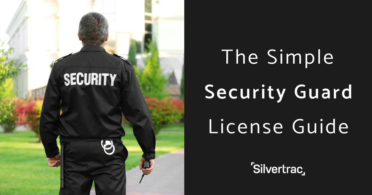 Simple Security Guard Card License Guide