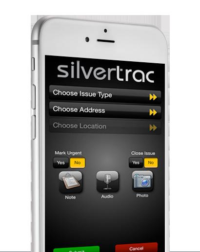 Silvertrac iPhone
