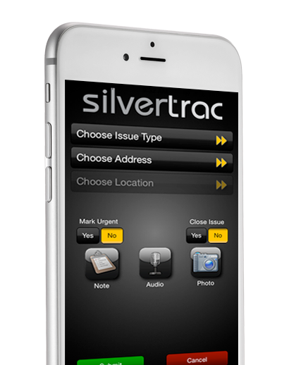 Silvertrac iPhone
