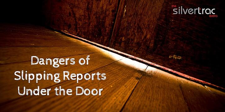Danger of Slipping Security Incident Reports Under the Door