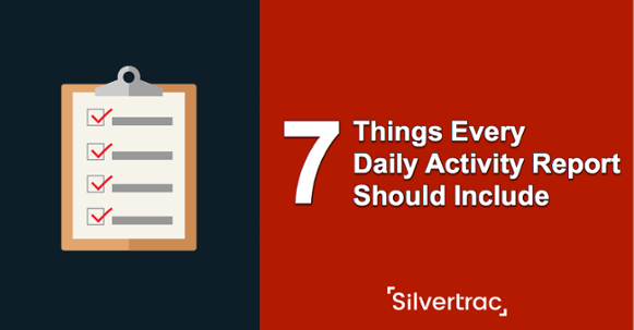 7 Things Every Daily Activity Report Should Include