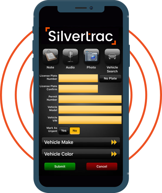 Silvertrac Guard Management Software Digital Parking Pass Software