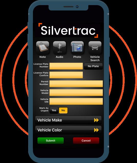 Silvertrac Guard Management Software Digital Parking Pass Software