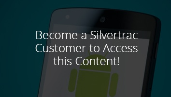 Screenshots of Silvertrac's IOS App